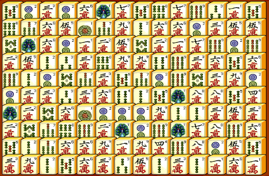 Mahjong Connect Table