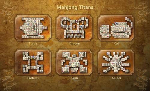 Tableau des options dans Microsoft Mahjong Titans
