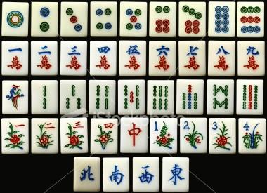 Les Tuiles Mahjong