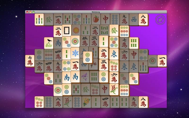 Exemple de tuiles libres dans Mahjong Titans
