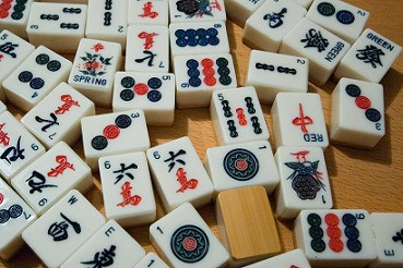 Le Tuiles Traditionnel Mahjong